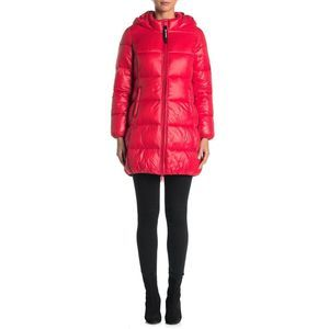 Juicy Couture XL Puffer Jacket Packable Candy Red